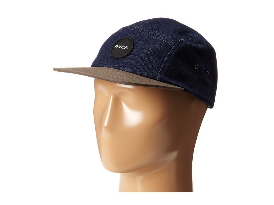 RVCA - Twelve Ounce Five Panel Hat (Navy) Caps
