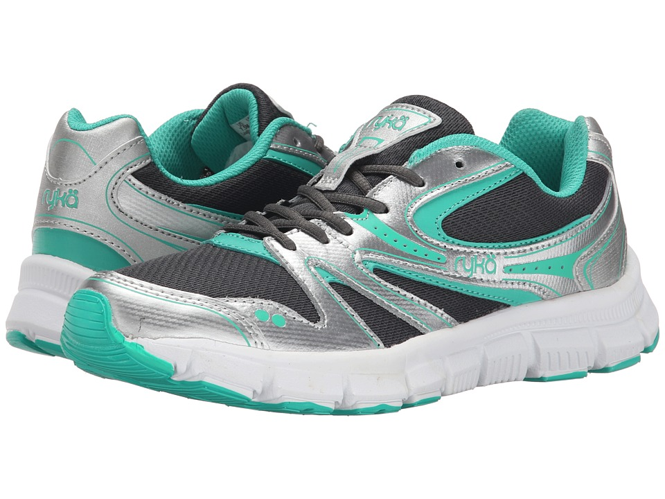 Ryka - Resolute SMT (Silver/Green/Charcoal) Women's Shoes