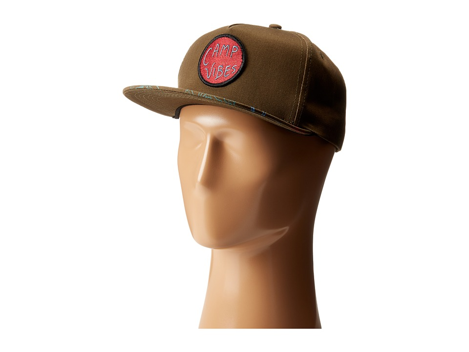 Poler - Camp Vibes Bro Snapback (Mossy) Caps
