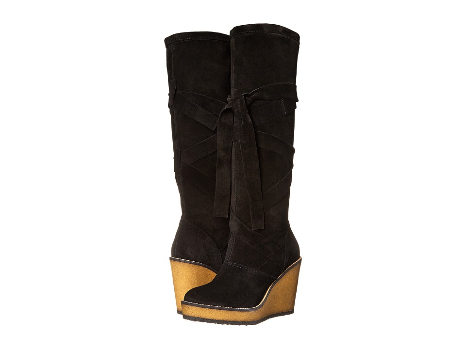 Robert Clergerie - Avane (Black Suede) Women's Pull-on Boots