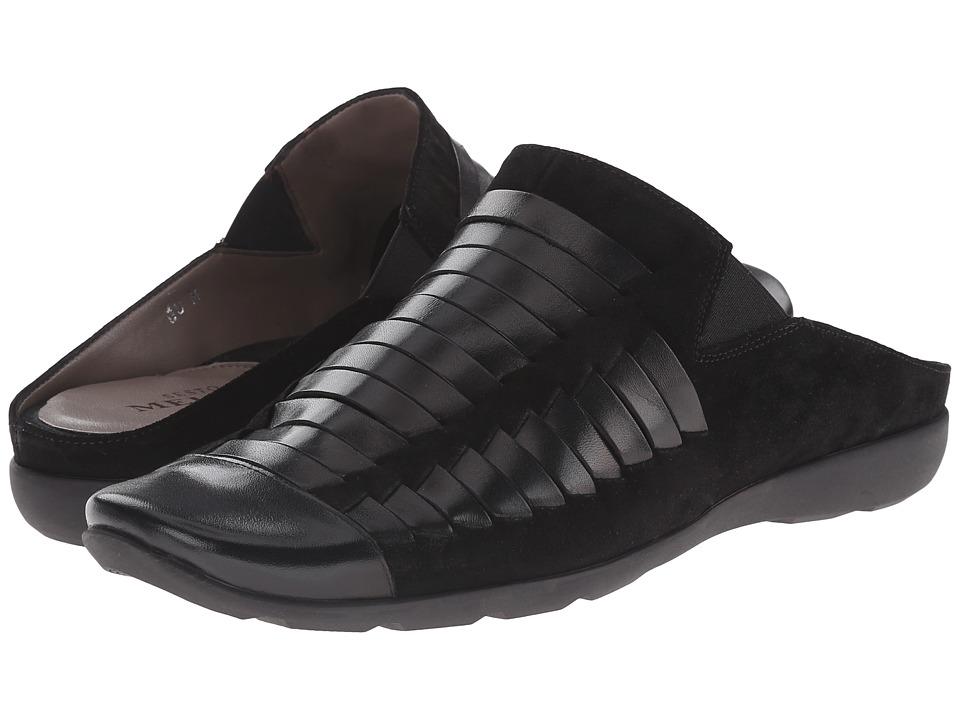 Sesto Meucci - Grety (Black Calf Suede) Women's Clog Shoes