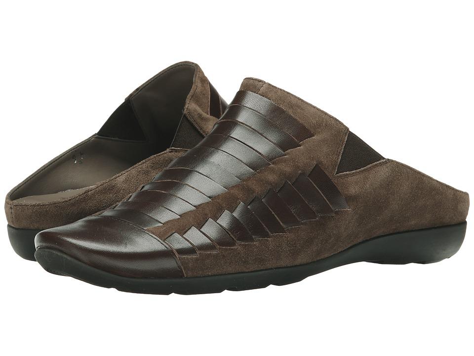 Sesto Meucci - Grety (Mouse Calf Suede) Women's Clog Shoes