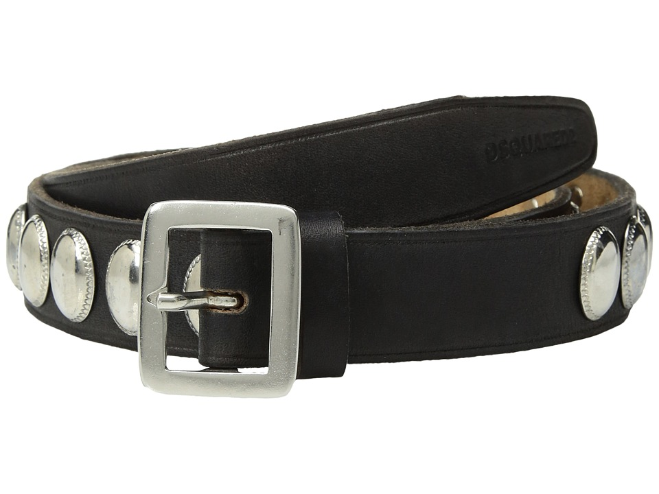 DSQUARED2 - Studded Belt (Nero) Men's Belts