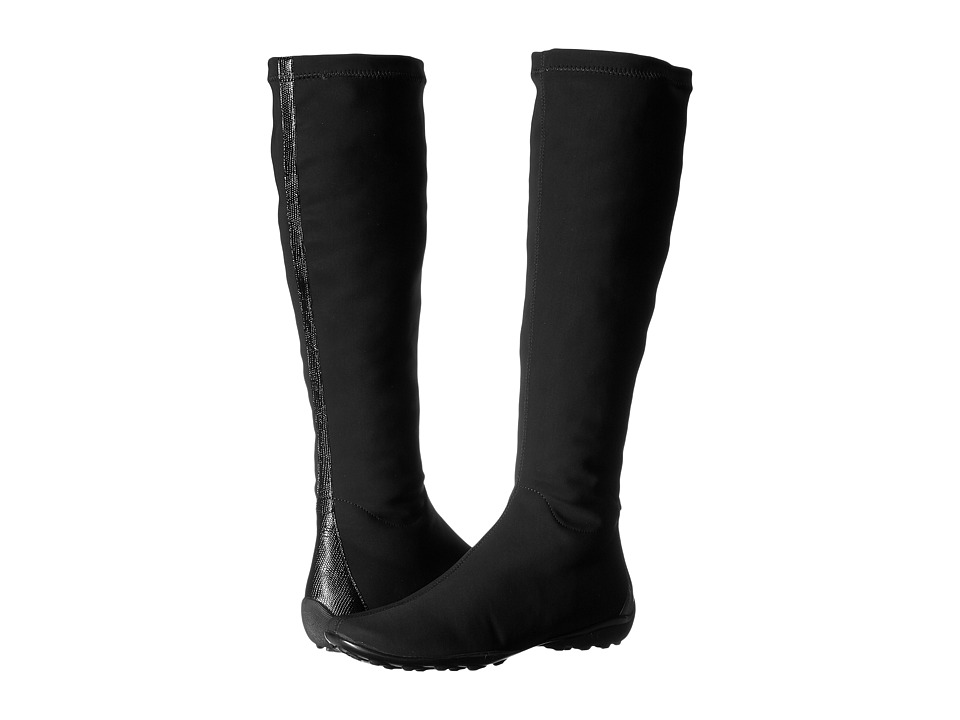 Sesto Meucci - Urca (Black Micro Stretch) Women's Waterproof Boots