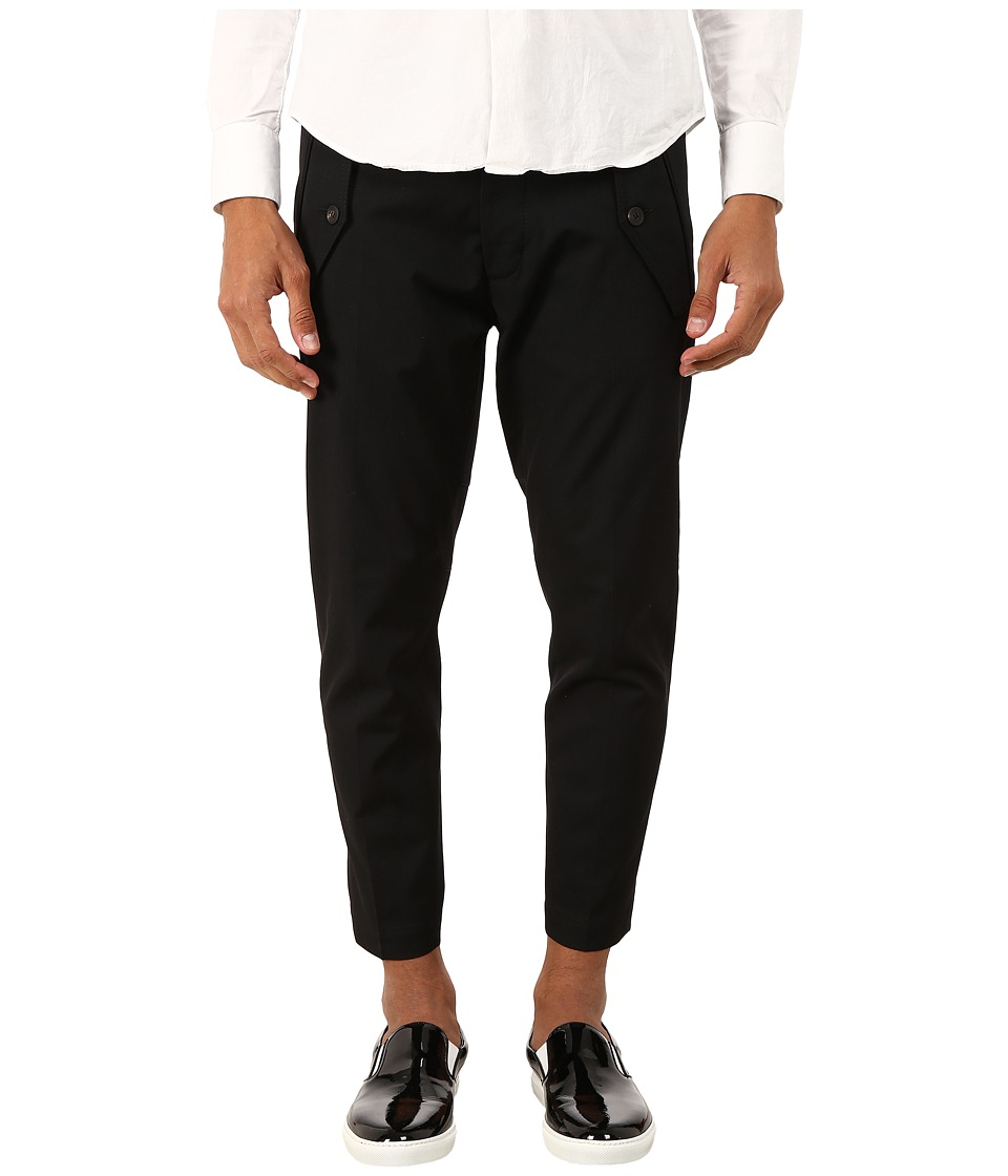 DSQUARED2 - Hockney Pants (Black) Men's Casual Pants