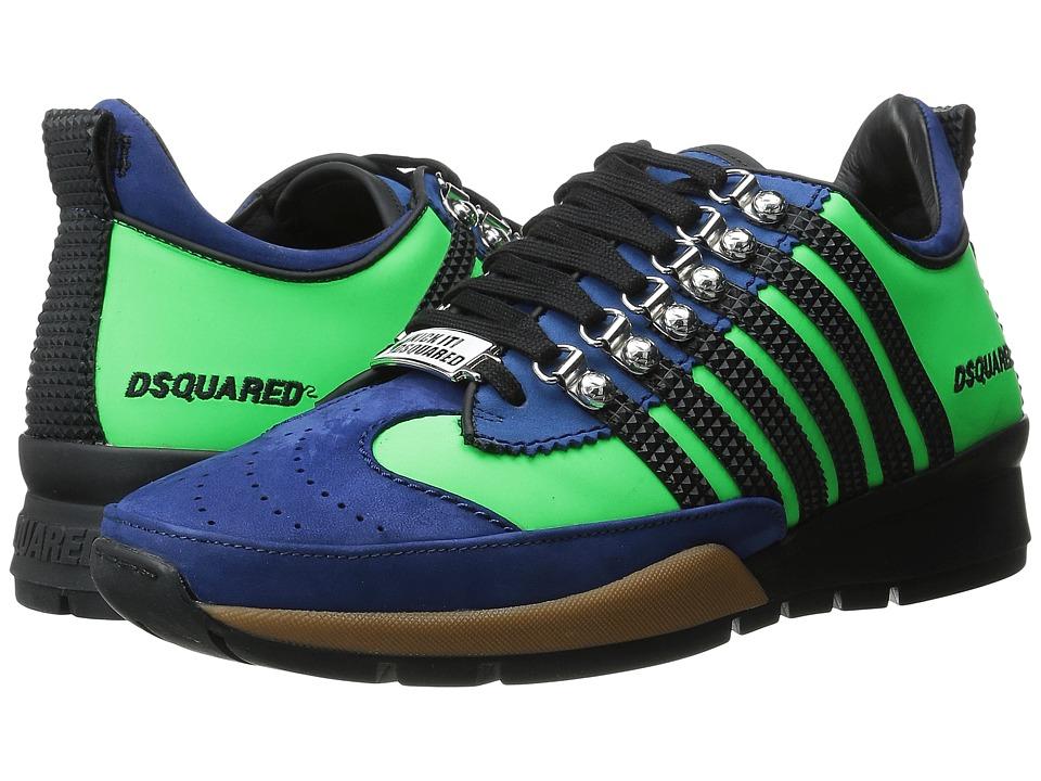 DSQUARED2 - Sport Sneakers II (Verdino Nero) Men's Shoes