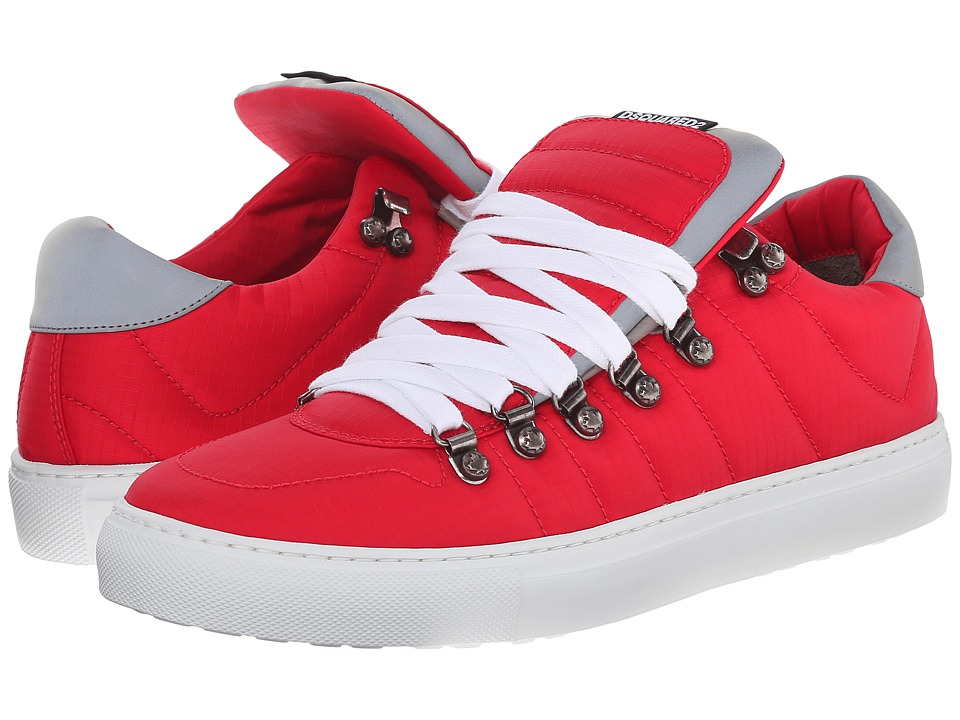 DSQUARED2 - Alfredo Sneakers (Rosso) Men's Shoes