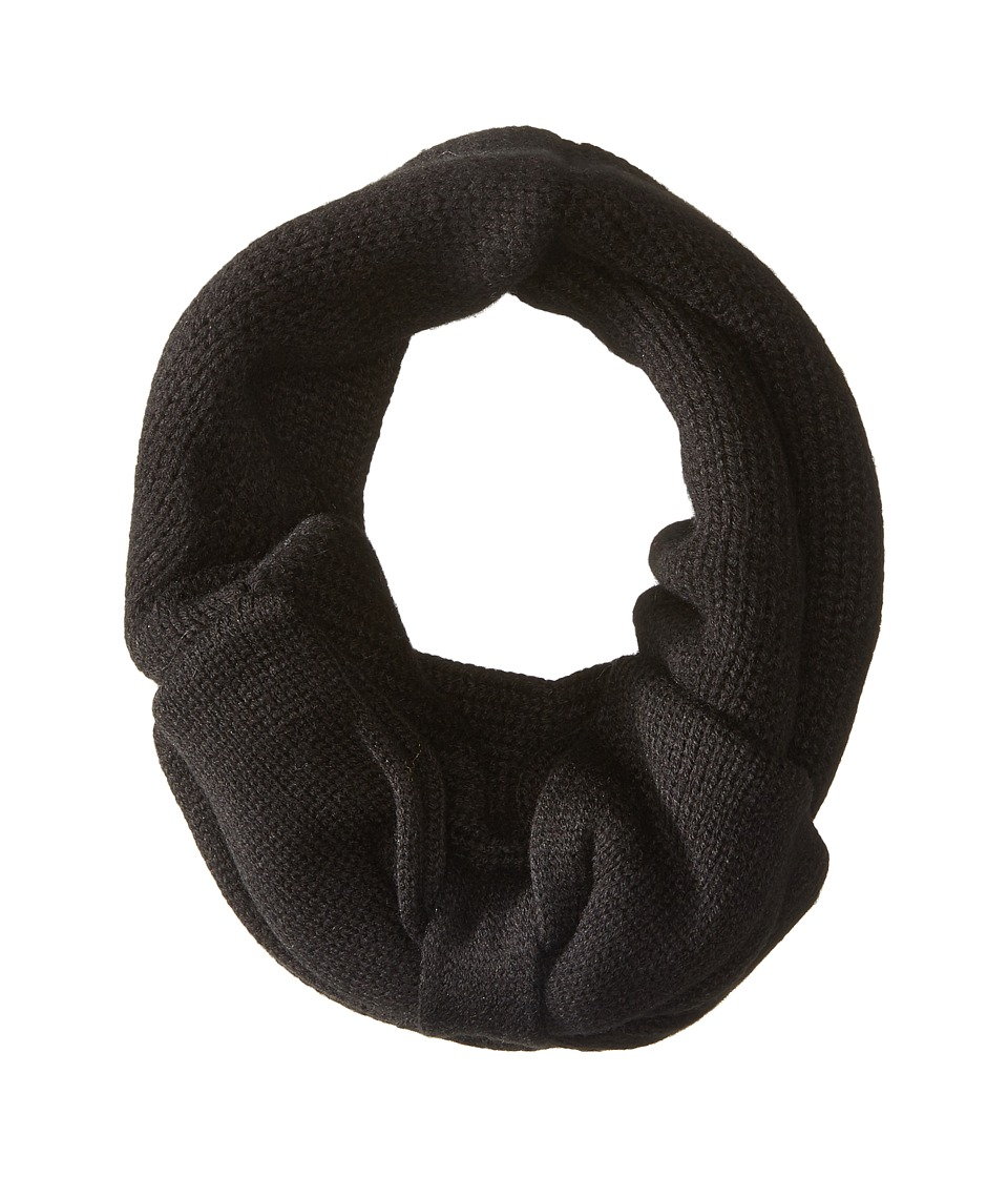Kate Spade New York - Gathered Bow Neckwarmer (Black) Scarves