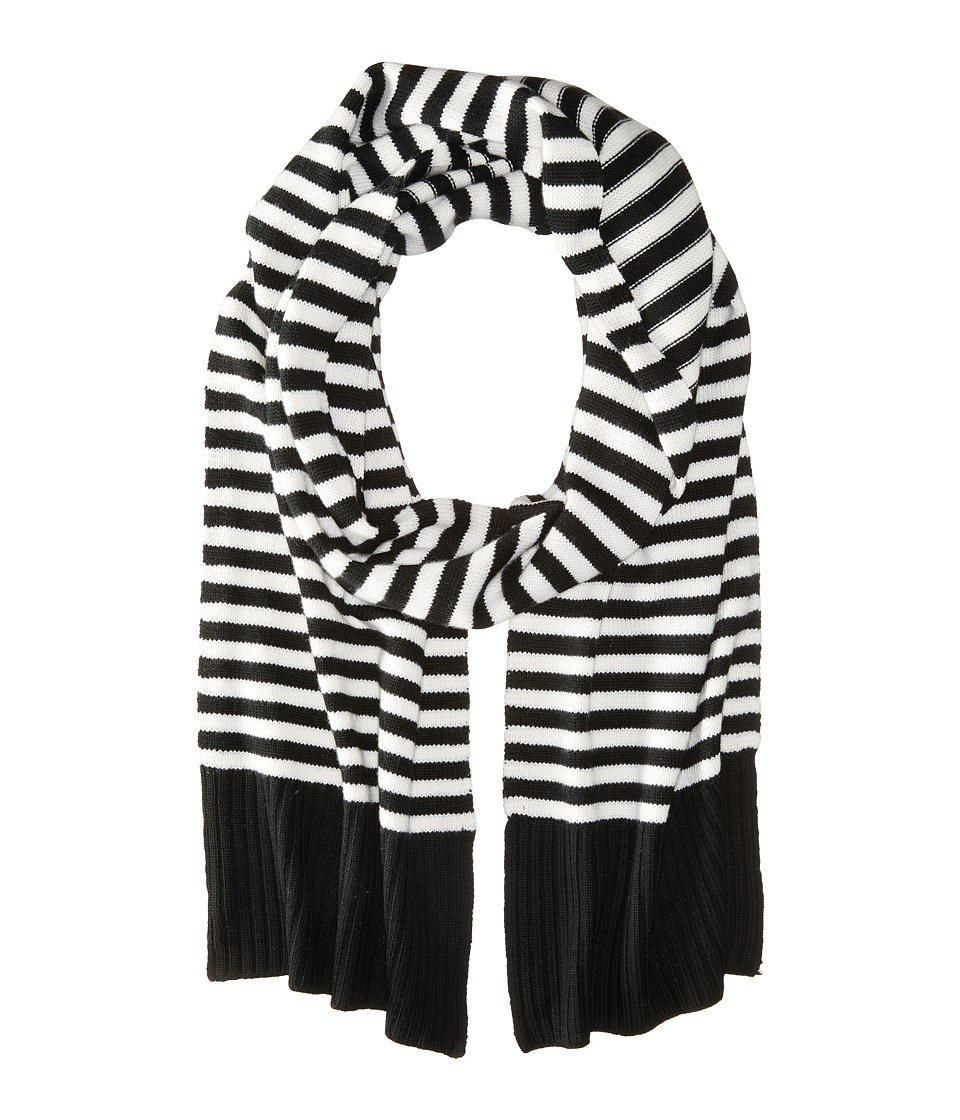 Kate Spade New York - Modern Heritage Stripe Muffler (Cream) Scarves