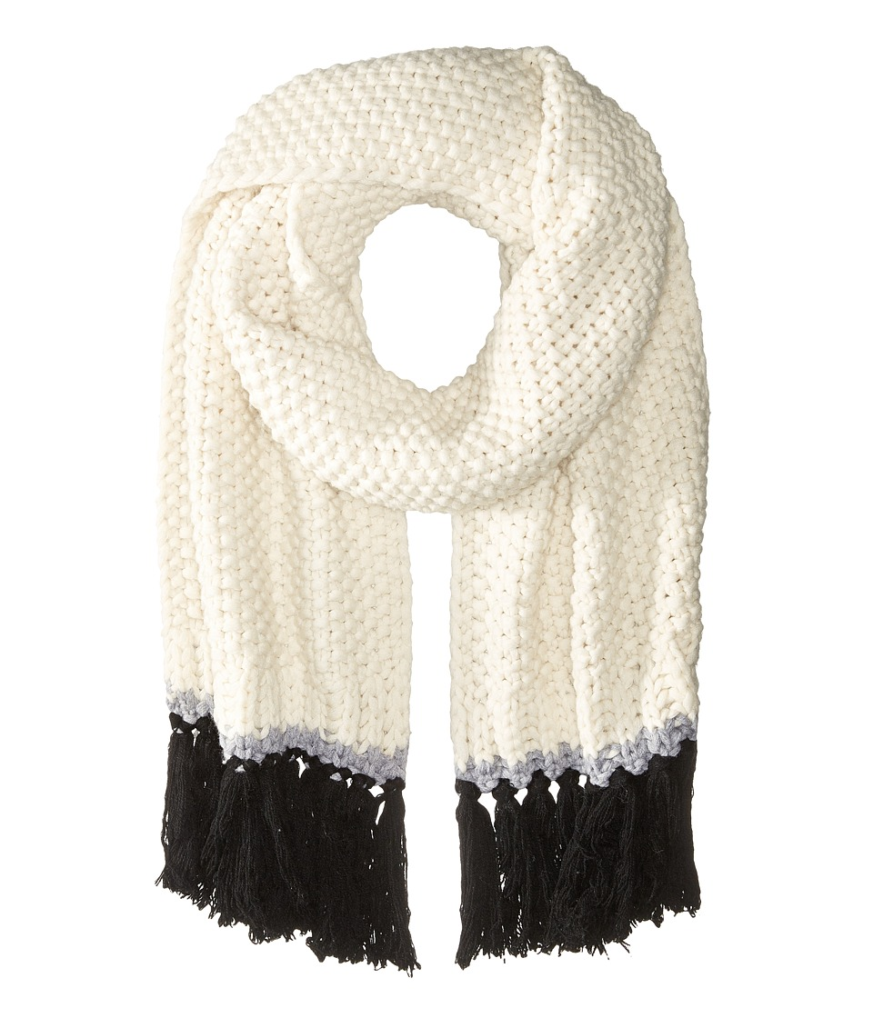 Kate Spade New York - Chunky Stitch Muffler (Cream) Scarves