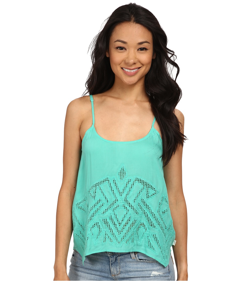 Volcom - Upstate Cami (Green Spray) Women's Sleeveless