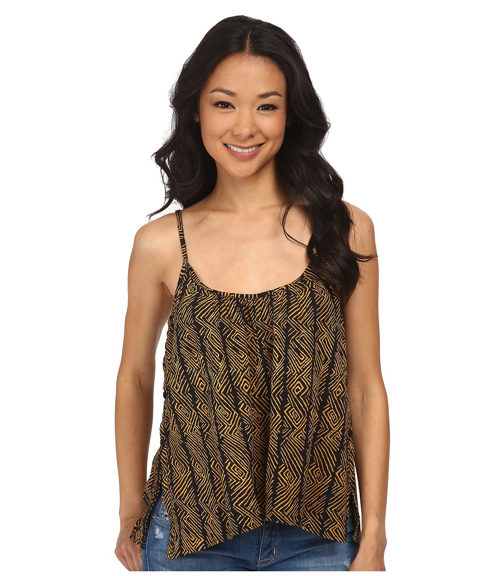 Volcom - No Worries Tank Top (Spice Gold) Women's Sleeveless