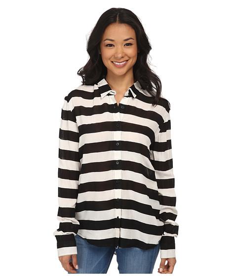 Volcom - Begotten Top (Black) Women's Clothing
