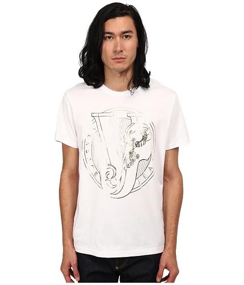 Versace Jeans - Metallic Tiger Logo T-Shirt (White) Men's T Shirt
