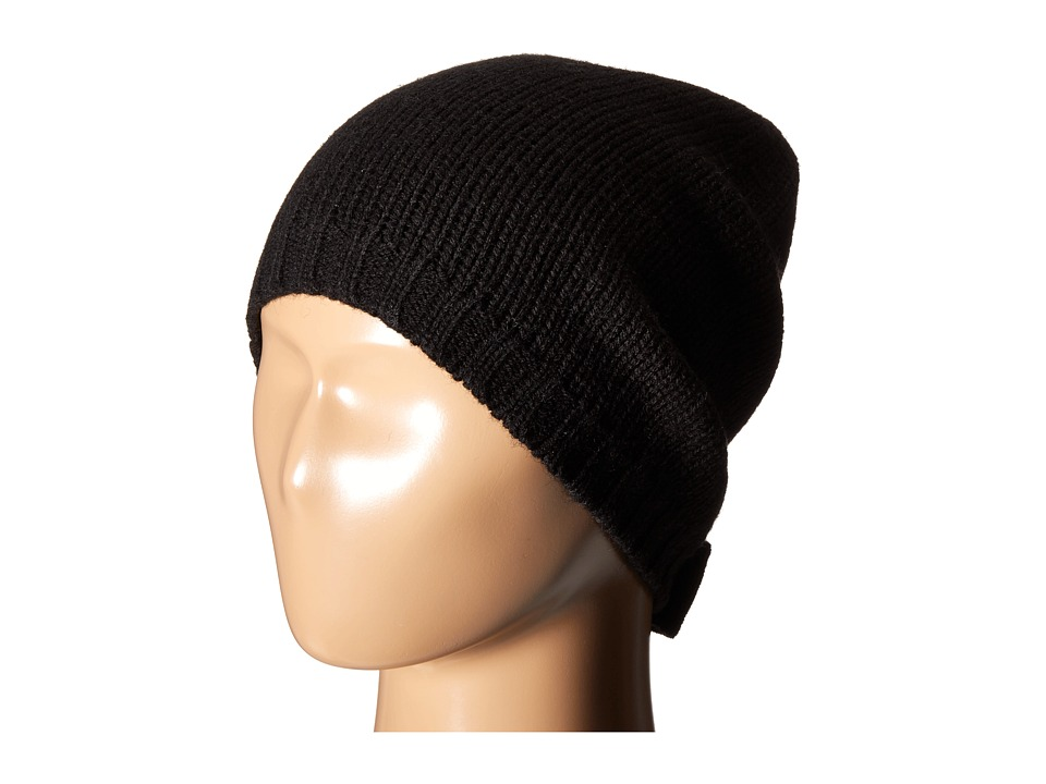 Kate Spade New York - Gathered Bow Beanie (Black) Beanies