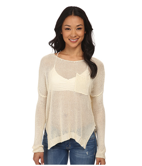 Volcom - Luv Junkie Sweater (Pearl) Women