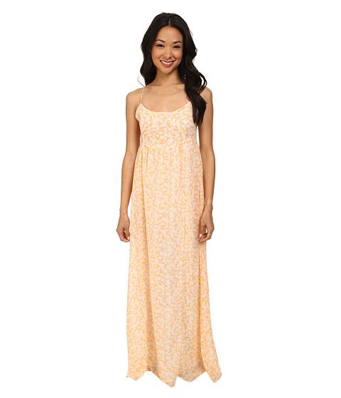 Volcom - Great Lengths Maxi Dress (Citrus Gold) Women's Dress