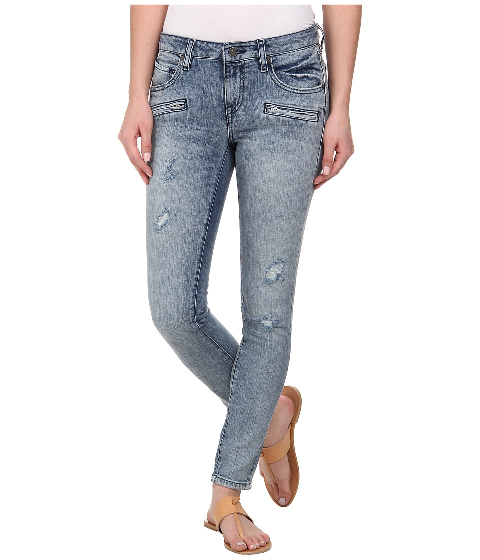 Volcom - Super Stoned Ankle Jeans (Matured Blue) Women