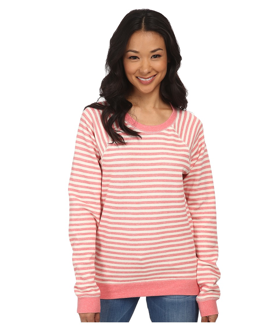 Volcom - Hideaway Pullover Fleece (Eletric Coral) Women's Fleece