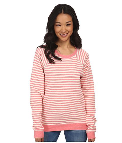Volcom - Hideaway Pullover Fleece (Eletric Coral) Women's Fleece