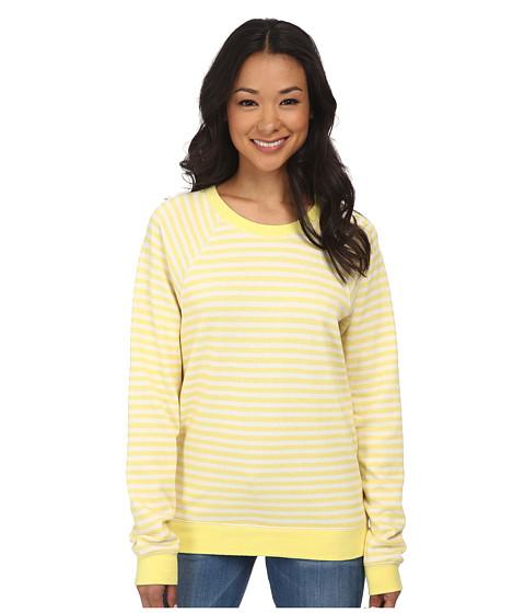 Volcom - Hideaway Pullover Fleece (Yellow Flash) Women's Fleece