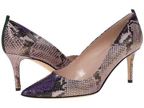 SJP by Sarah Jessica Parker - Fawn 70mm (Violet Snake Print) Women's Slip-on Dress Shoes