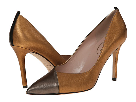 SJP by Sarah Jessica Parker - Elle (Bronze Metallic Nappa) Women's Shoes