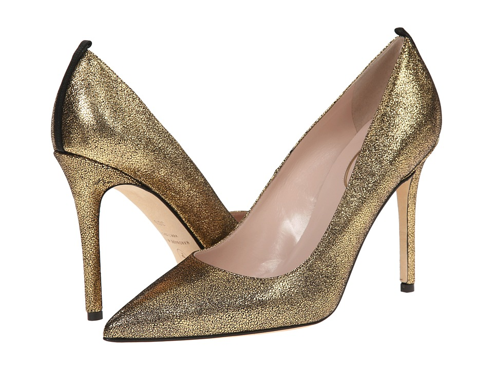 SJP by Sarah Jessica Parker - Fawn 100mm (Vintage Oro Liberty Nappa) Women's Shoes