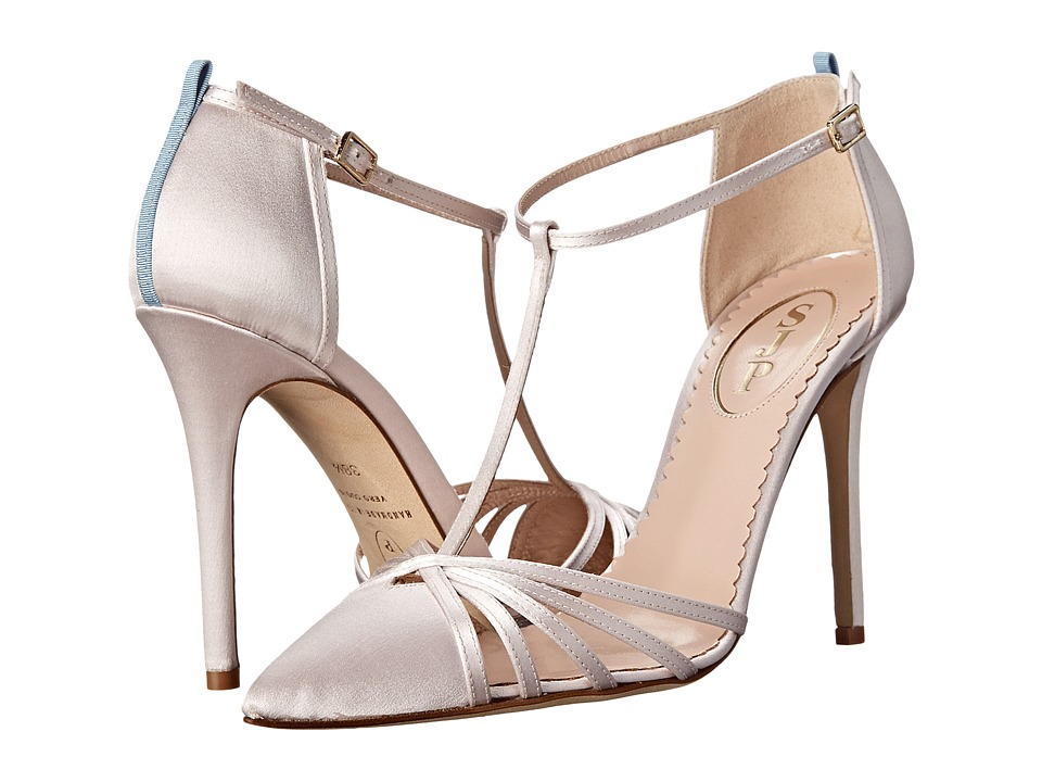 SJP by Sarah Jessica Parker - Carrie (Blush Satin) Women's Shoes