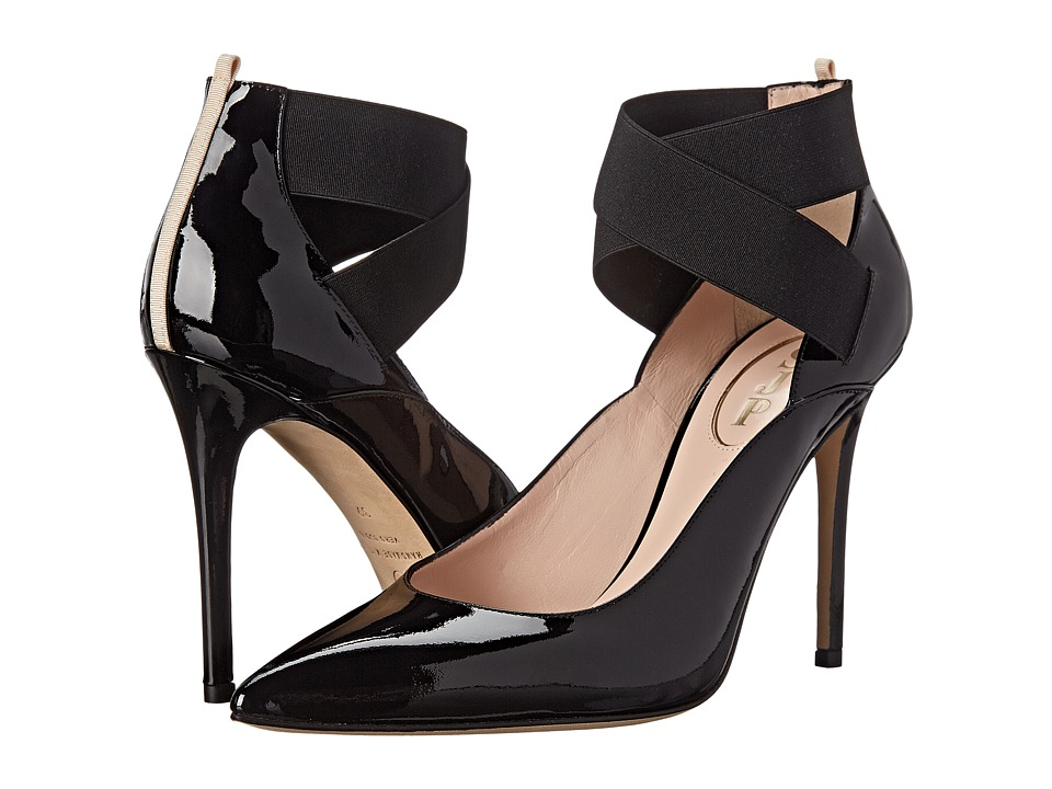SJP by Sarah Jessica Parker - Pippi (Black Patent) Women's Shoes
