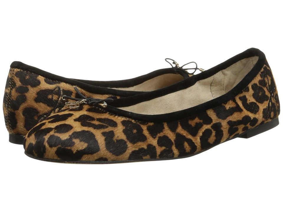 Sam Edelman - Felicia (Brown Black Leopard) Women's Flat Shoes