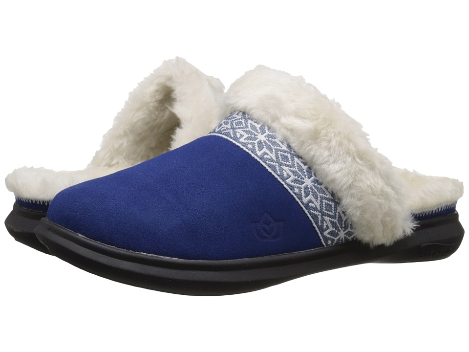 Spenco - Nordic Slide (Navy) Women's Slide Shoes