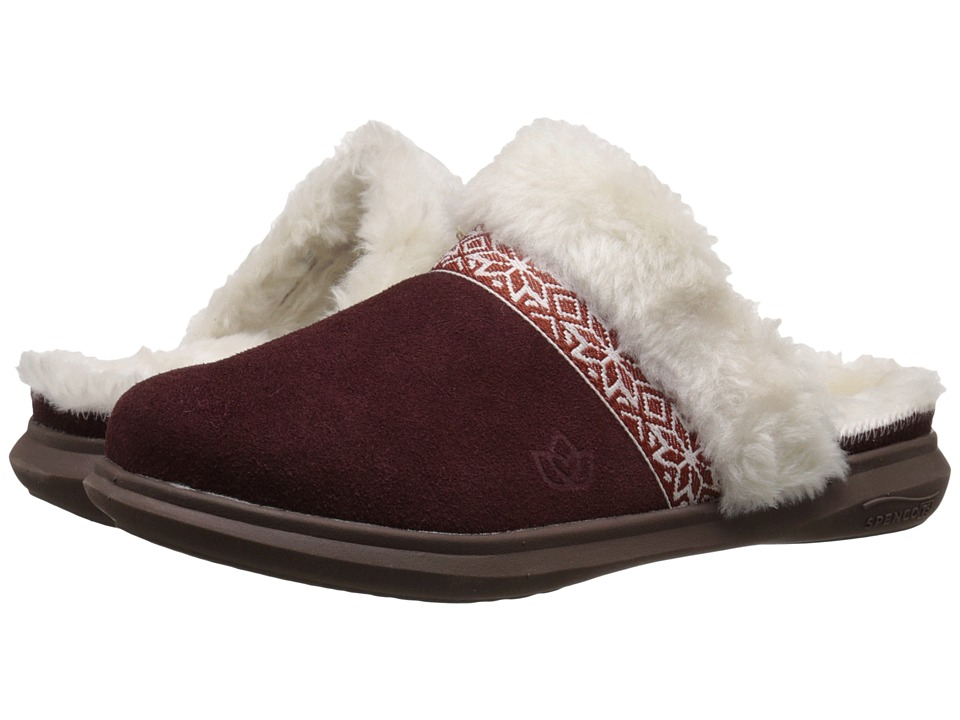 Spenco - Nordic Slide (Bordo) Women's Slide Shoes