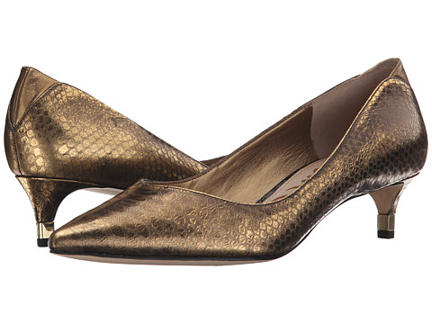 Sam Edelman - Laura (Pure Gold) Women's 1-2 inch heel Shoes
