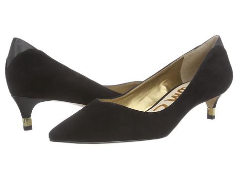 Sam Edelman - Laura (Black Suede) Women's Shoes