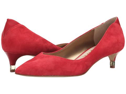 Sam Edelman - Laura (Desert Red Suede) Women's 1-2 inch heel Shoes