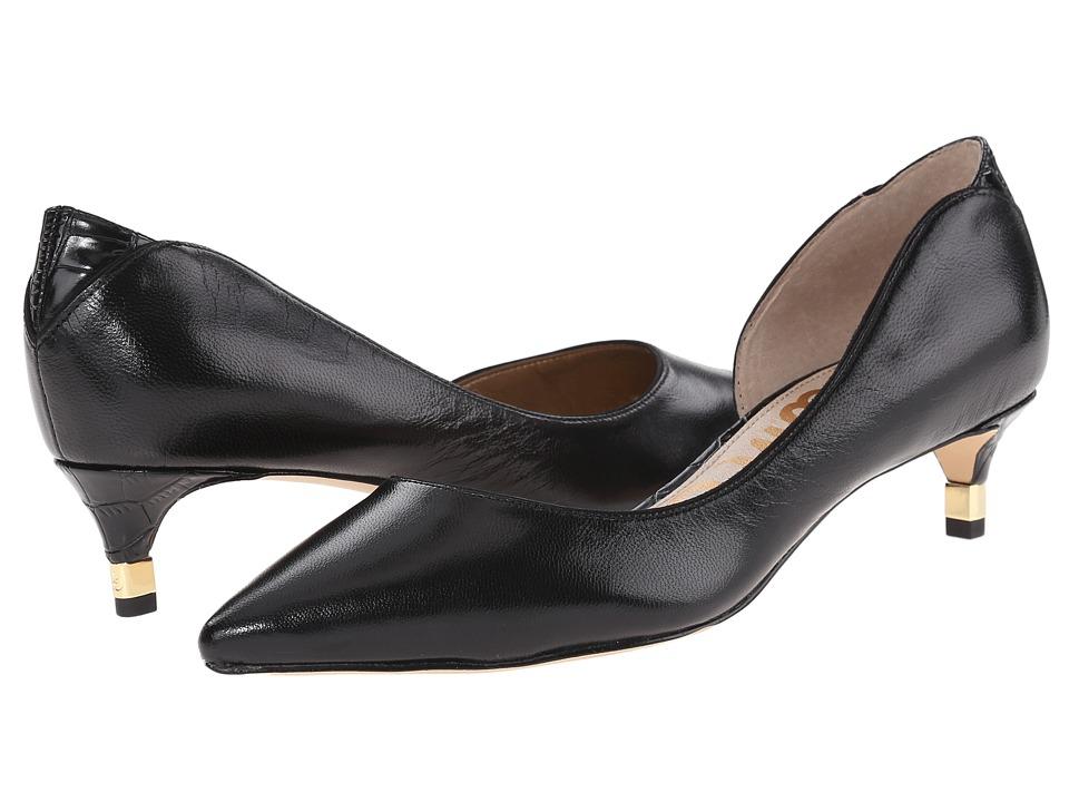Sam Edelman - Linda (Black Leather) Women
