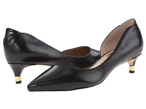 Sam Edelman - Linda (Black Leather) Women's Shoes