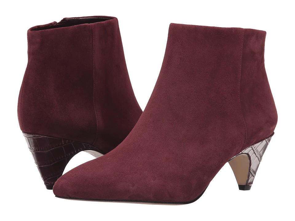 Sam Edelman - Lucy Ankle Boot (Sangria) Women