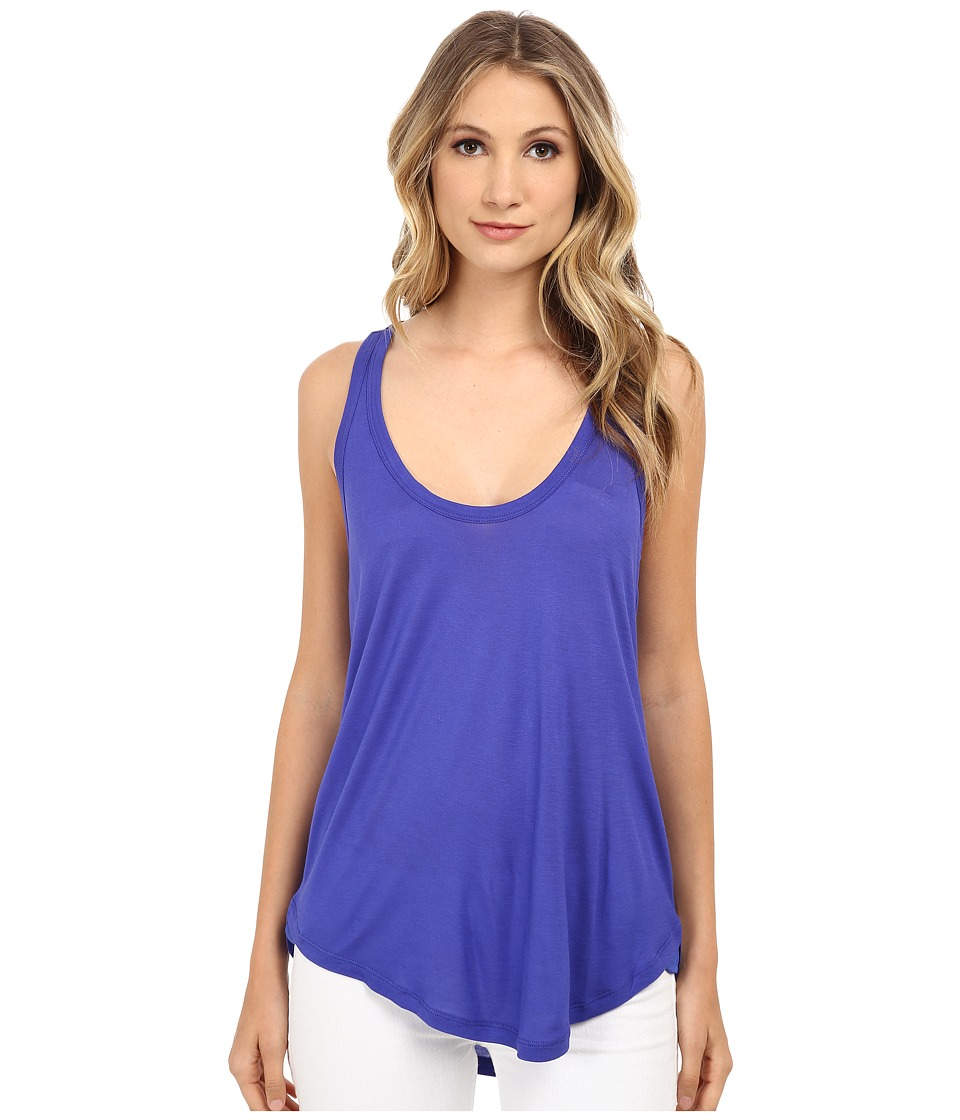Splendid - Midnight Jersey Tank Top (Cobalt Blue) Women