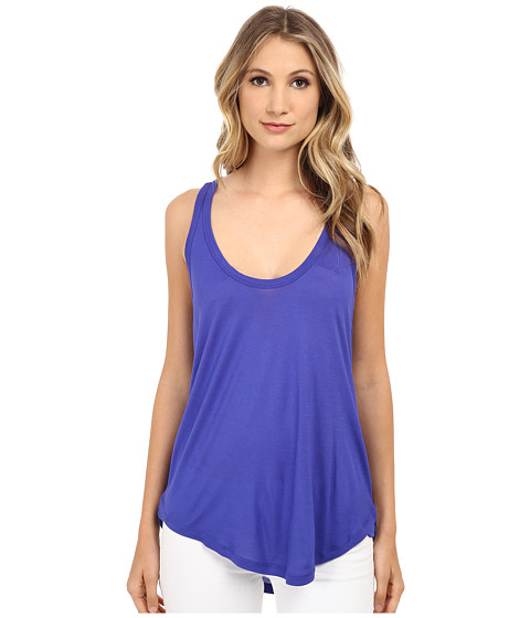 Splendid - Midnight Jersey Tank Top (Cobalt Blue) Women's Sleeveless
