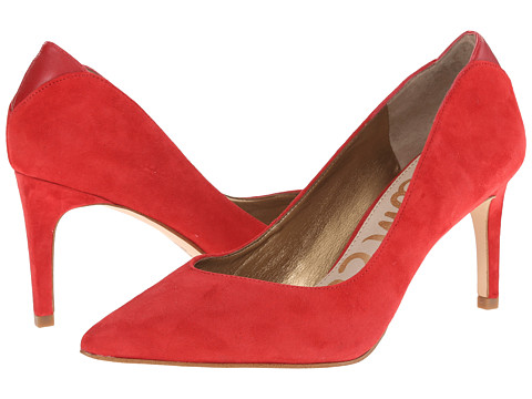 Sam Edelman - Orella (Desert Red Kid Suede Leather) Women's Shoes