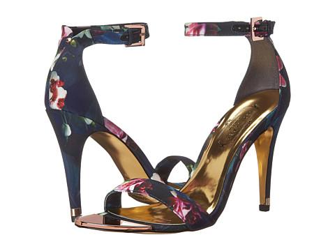 Ted Baker - Caitte (Fuchsia Print Textile) High Heels