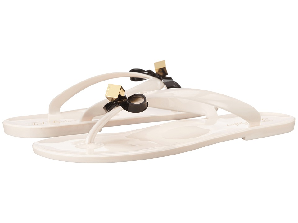 Ted Baker - Taito (Cream/Black PVC) Women's Sandals