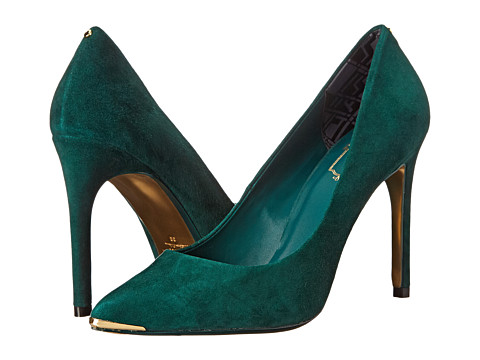 Ted Baker - Neevo 4 (Dark Green Suede) High Heels