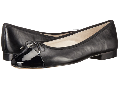 Sam Edelman - Sara (Black Patent/Sheep Leather) Women's Shoes