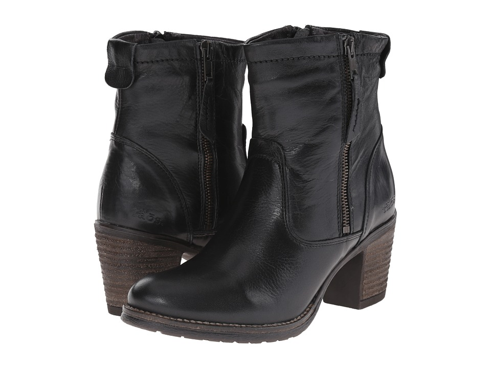 taos Footwear - Shaka (Black Leather) Women's Boots