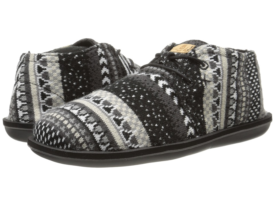 Sanuk - Koda Chill (Black Nordic) Men's Lace up casual Shoes