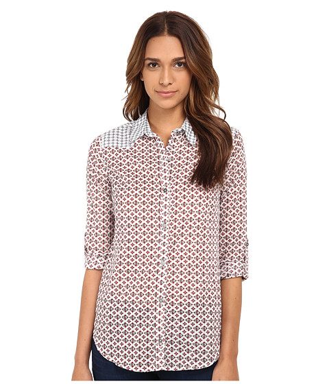 Seven7 Jeans - Button Down Shirt (Tulip Red) Women