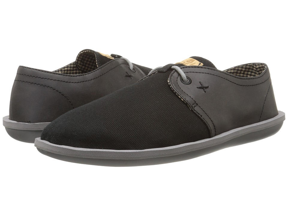 Sanuk - Parra Select (Black) Men's Lace up casual Shoes